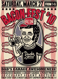 Baconfest at Dad's Garage Theater